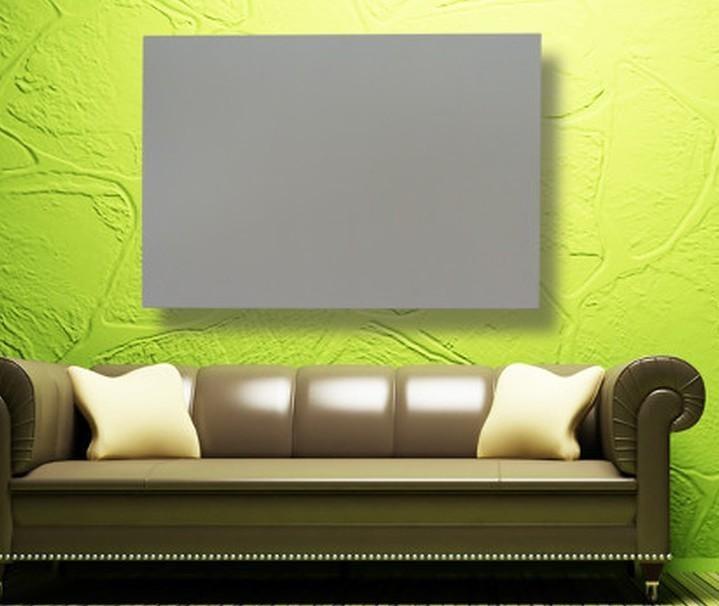 400 Watt DC Aluminum Infrared Heating Panel (White) ECO-IH-DC-400Panneau de chauffage infrarouge en aluminium DC (blanc)